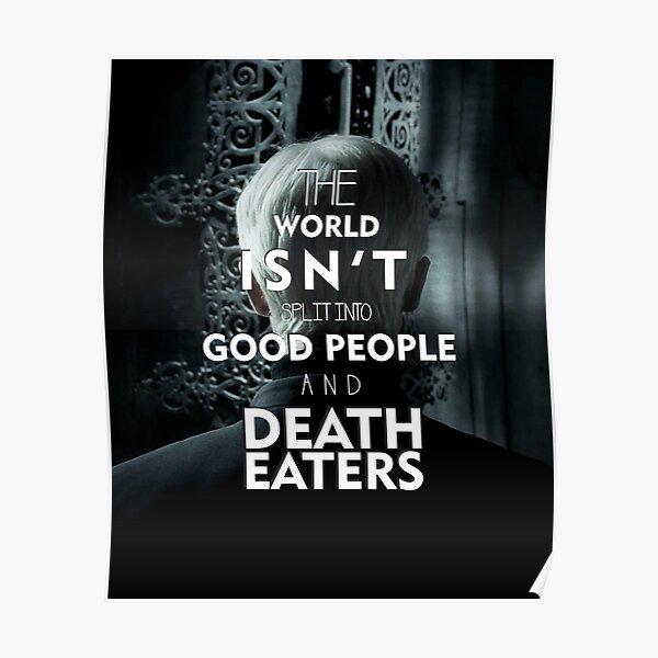 Mangemorts -Draco Malefoy Poster