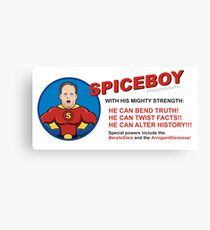 Spicy Boy Canvas Print