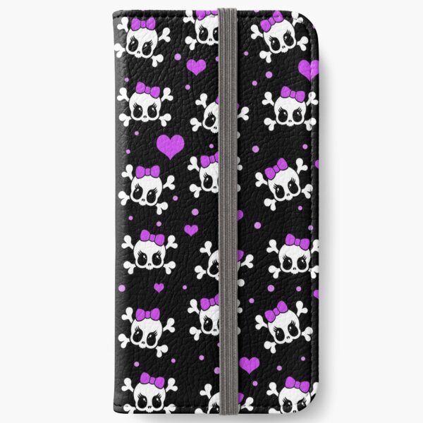 Cute skulls  iPhone Wallet