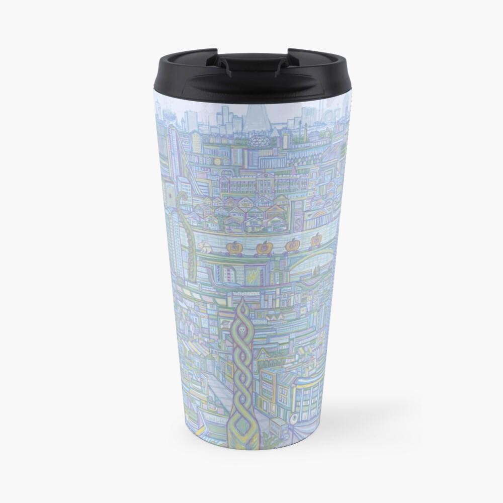THE MEGATROPOLIS (cool hues) Travel Mug