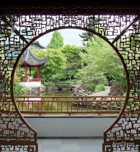 Dr.Sun Yat Gardens, ChinaTown, Vancouver, BC by AnnDixon