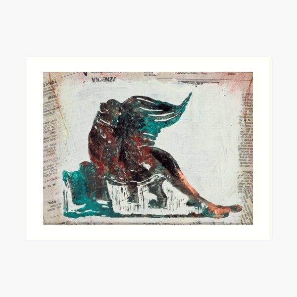 Lion of St.Mark - Venice, Italy Art Print