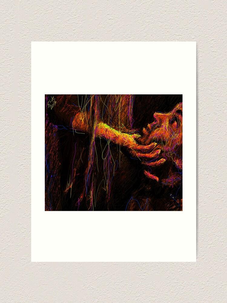 "Alternate view of ""Beg, 2013"" by Ms Slide Art Print"
