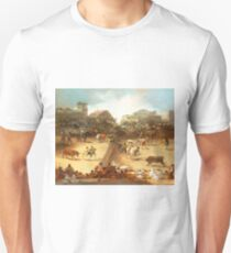 Bullfight in a Divided Ring Unisex T-Shirt