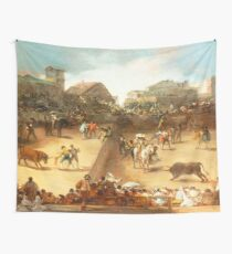 Bullfight in a Divided Ring Wall Tapestry