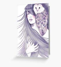 Sorceress Greeting Card