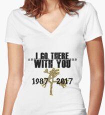 U2 - The Joshua Tree Tour for light colors Women's Fitted V-Neck T-Shirt