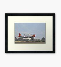 Texan VH-WHF take-off,Albion Park Airshow,Australia 2016  Framed Print