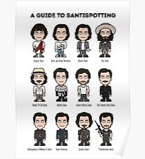 A Guide To Santispotting Poster