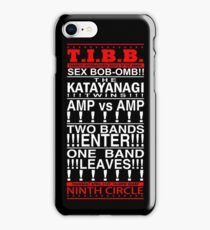 Scott Pilgrim - Battle Of The Bands iPhone Case/Skin
