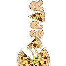 Caspar Pizza - A by 4ogo Design