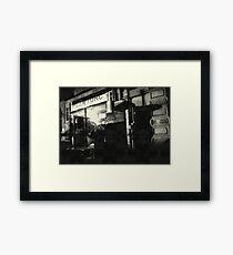 { urban scene } Framed Print