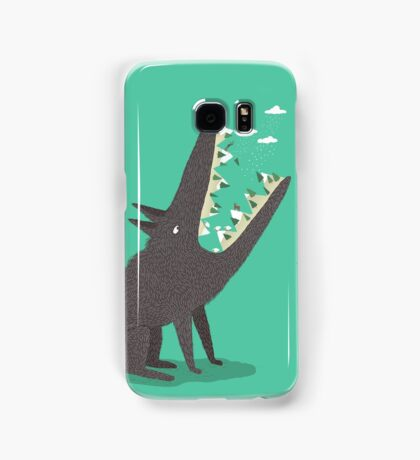 Au loup ! Samsung Galaxy Case/Skin