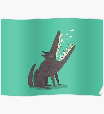 Au loup ! Poster