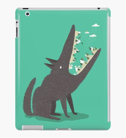 Au loup ! iPad Case/Skin