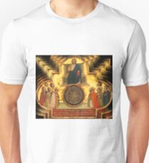 Christ Enthroned with Saints Unisex T-Shirt