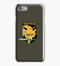 Metal Gear Solid - Fox Hound Emblem iPhone Case/Skin