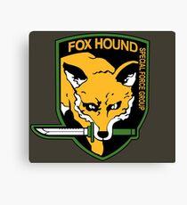 Metal Gear Solid - Fox Hound Emblem Canvas Print