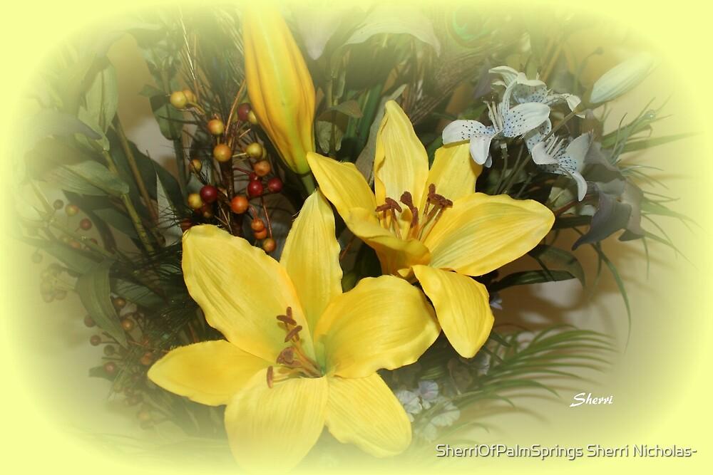 MELLOW YELLOW by Sherri Palm Springs  Nicholas