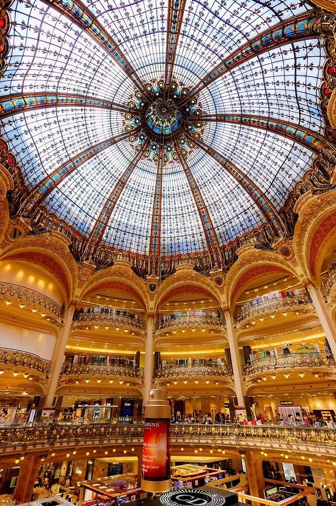 Galeries Lafayette, Paris 3 by John Velocci