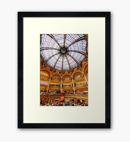 Galeries Lafayette, Paris 3 Framed Print