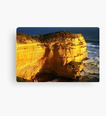 1048 Cliffs at Sunset Canvas Print
