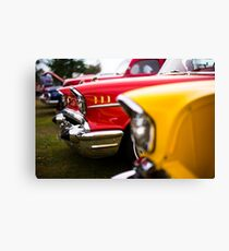 Bumper to bumper - Belair Canvas Print