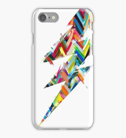graphic lighting iPhone Case/Skin
