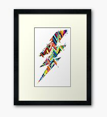 graphic lighting Framed Print
