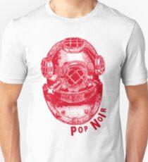 Pop Noir 1 Red Unisex T-Shirt