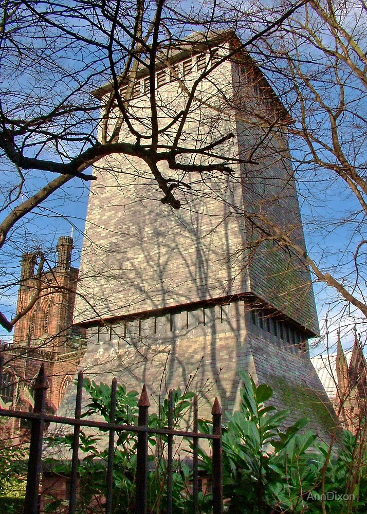 Chester Cathedral Bell Tower by AnnDixon