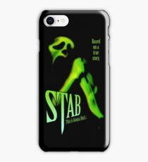 Scream - Stab Movie Poster iPhone Case/Skin