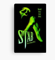 Scream - Stab Movie Poster Canvas Print