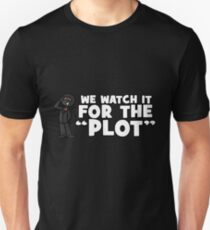 """We watch it for the PLOT"" Shady Corner 2017 Shirt Unisex T-Shirt"