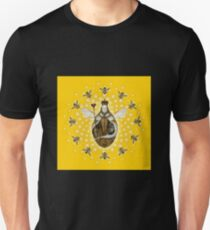 Mandala Queen Bee Unisex T-Shirt