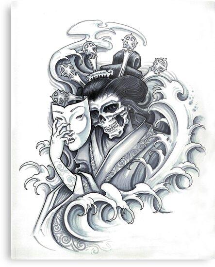 Death Mask by Derek Mullins