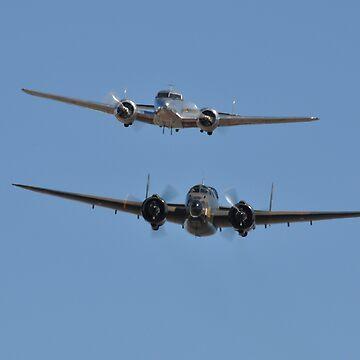 Lockheed Twins, Avalon Airshow, Australia 2013 by muz2142
