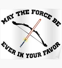 THE HUNGER GAMES MEETS STAR WARS Poster