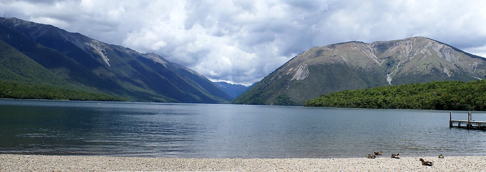 Nelson Lake Panorama by Nigel Roulston