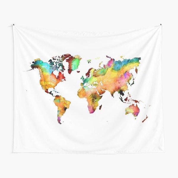 world map 71 #map #worldmap Tapestry
