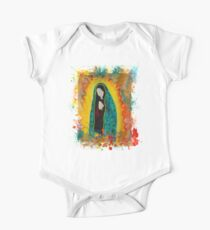 Our Lady of Guadalupe Short Sleeve Baby One-Piece