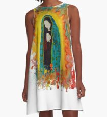 Our Lady of Guadalupe A-Line Dress