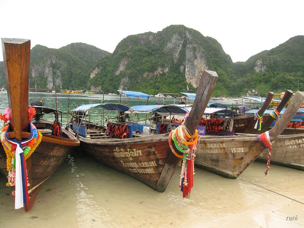 thai boats by rani