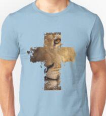 Lion Cross Christian  Unisex T-Shirt
