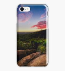 Sunset in the Perth hills iPhone Case/Skin