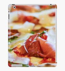 Pancetta Parmesan and Arugula Pizza iPad Case/Skin