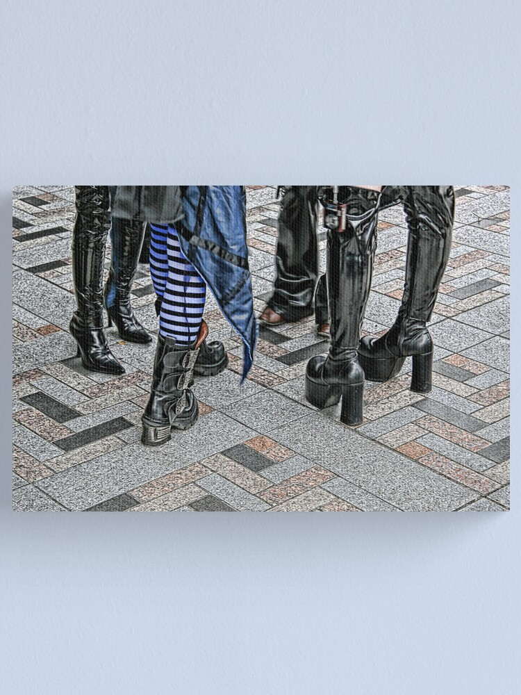Alternate view of Tokyo - Harajuku Style II Canvas Print