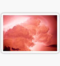 Lightning Clouds Sticker