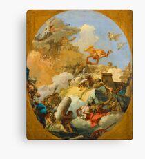 The Apotheosis of the Spanish Monarchy by Giovanni Battista Tiepolo Canvas Print