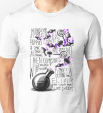 Mushrooms, popies, sugar and spice... Unisex T-Shirt